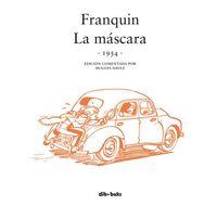 Spirou Franquin. La máscara (1954): portada