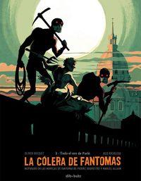 COLERA DE FANTOMAS,LA 2: portada