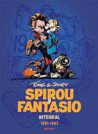 Spirou y Fantasio Integral 13: portada