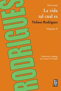 VIDA TAL CUAL ES,LA VOL II: portada