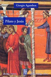 PILATO Y JESUS: portada