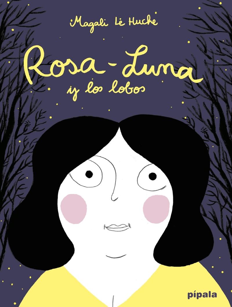 ROSA-LUNA Y LOS LOBOS: portada