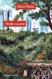 VERDE OSCURO: portada