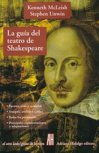 Guía del Teatro de Shakespeare: portada