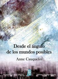 DESDE EL ÁNGULO DE LOS MUNDOS POSIBLES: portada