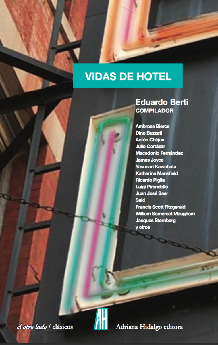 Vidas de hotel: portada