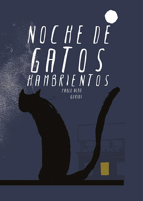 Noche de gatos hambrientos: portada