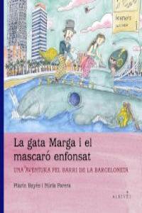 GATA MARGA I EL MASCARO ENFONSAT - CAT: portada
