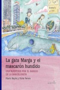 GATA MARGA Y EL MASCARON HUNDIDO,LA: portada
