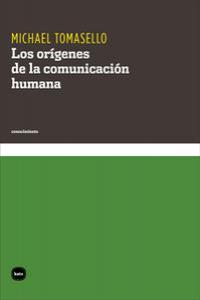 Los orígenes de la comunicación humana: portada