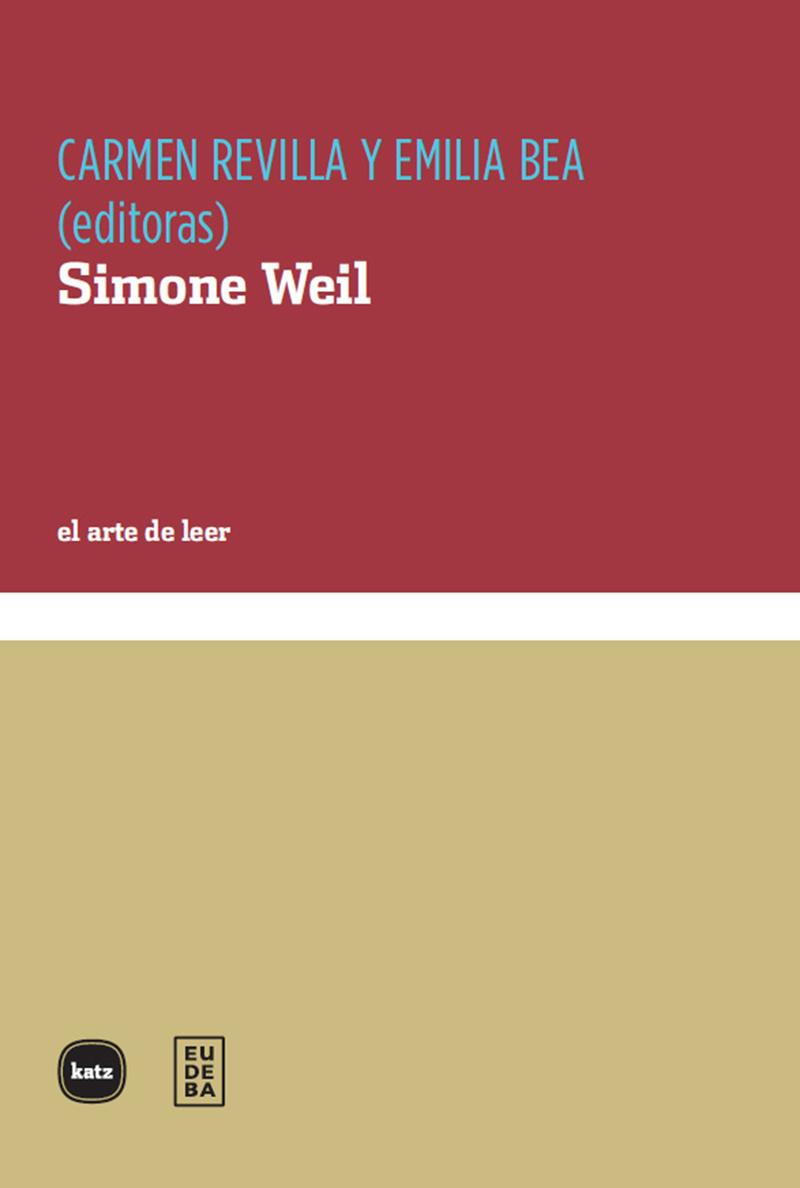 Simone Weil: portada
