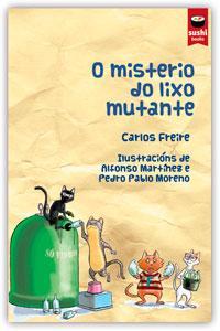 misterio do lixo mutante, O: portada