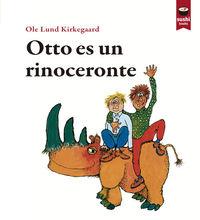 Otto es un rinoceronte: portada