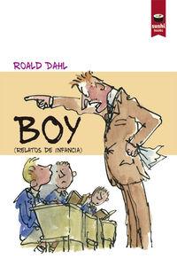 Boy: portada