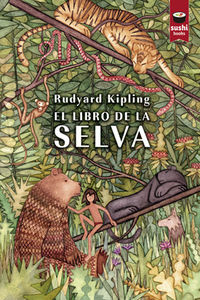 El libro de la selva: portada