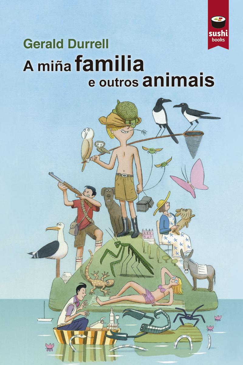 A miña familia e outros animais: portada