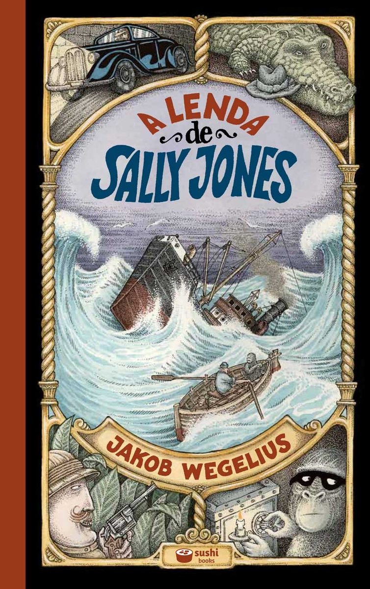 A lenda de Sally Jones - Gallego: portada