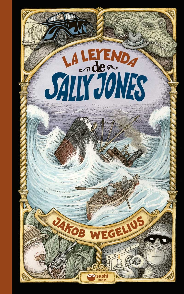 La leyenda de Sally Jones: portada
