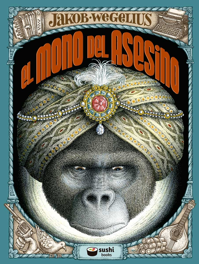 mono del asesino, El: portada