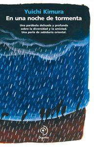 En una noche de tormenta: portada