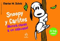 Snoopy y Carlitos 2. Nunca caces a un sabueso: portada