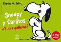 Snoopy y Carlitos 8. ¿Y mis galletas?: portada