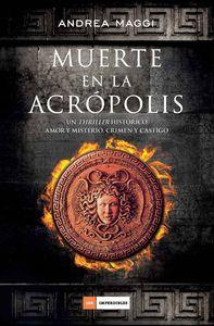 Muerte en la Acrópolis: portada