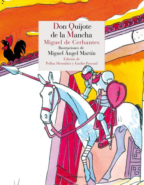 DON QUIJOTE DE LA MANCHA: portada