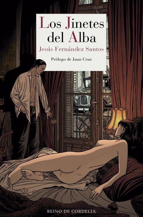 LOS JINETES DEL ALBA: portada
