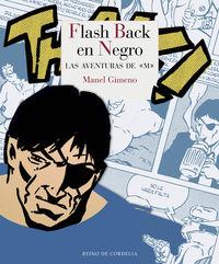 FLASH BACK EN NEGRO: portada