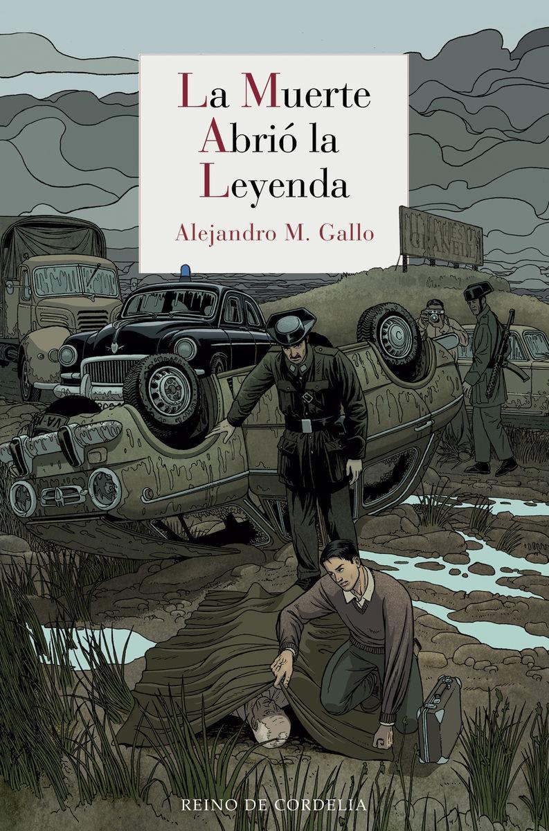 LA MUERTE ABRIó LA LEYENDA: portada