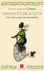 Damas en bicicleta: portada
