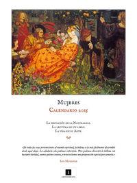Calendario Mujeres 2015: portada