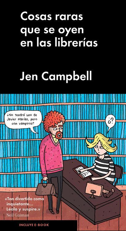 Cosas raras que se oyen en las librerías: portada