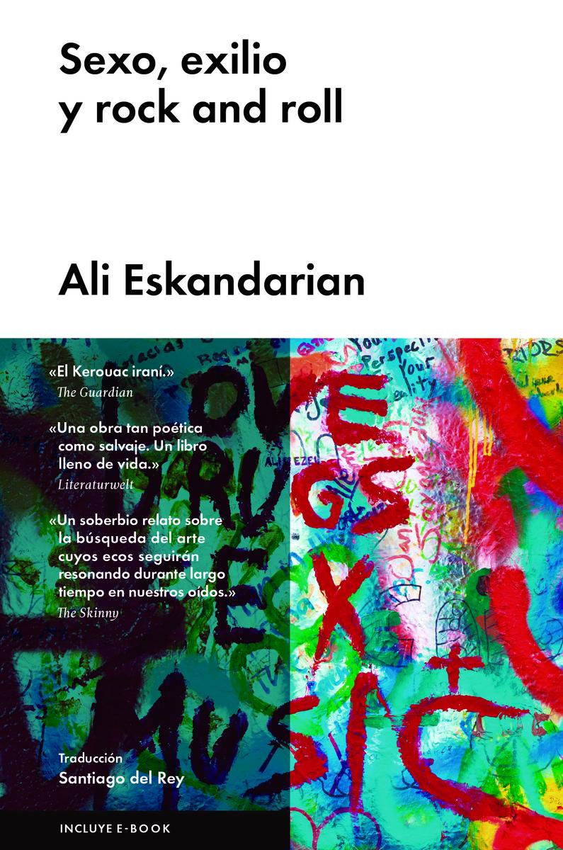 Sexo, exilio y rock and roll: portada