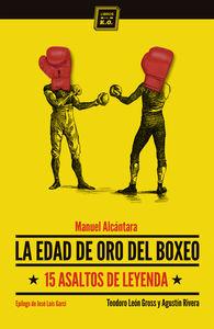 La edad de oro del boxeo: portada