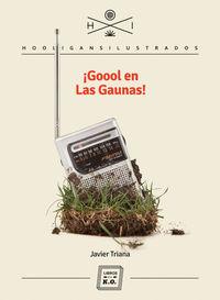 ¡Goool en Las Gaunas!: portada