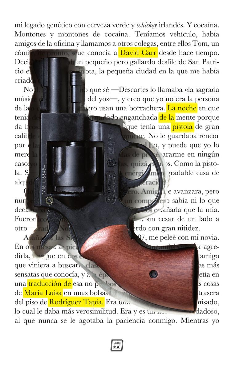 La noche de la pistola: portada