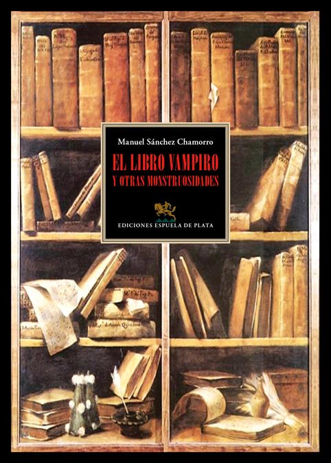 El libro vampiro y otras monstrusidades: portada