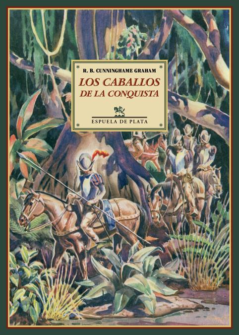 Los caballos de la conquista: portada
