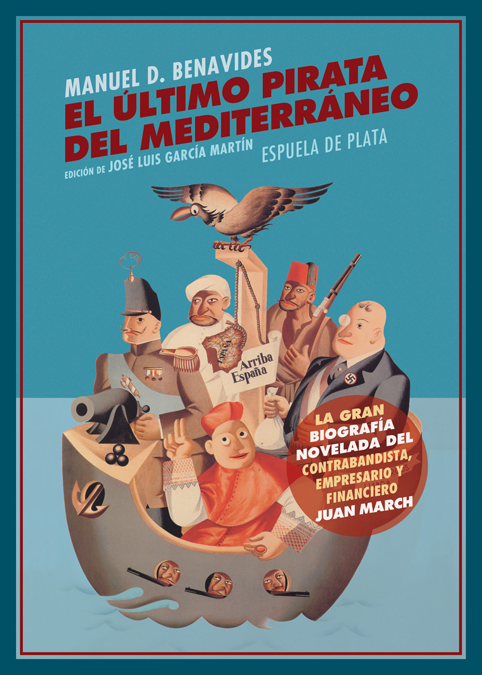 El último pirata del Mediterráneo: portada