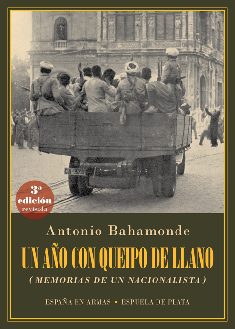 Un año con Queipo de Llano: portada