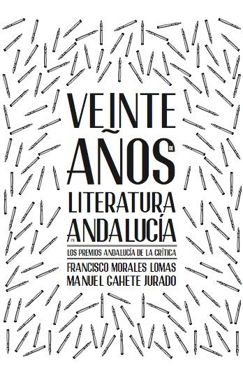 Veinte años de literatura en Andalucía: portada