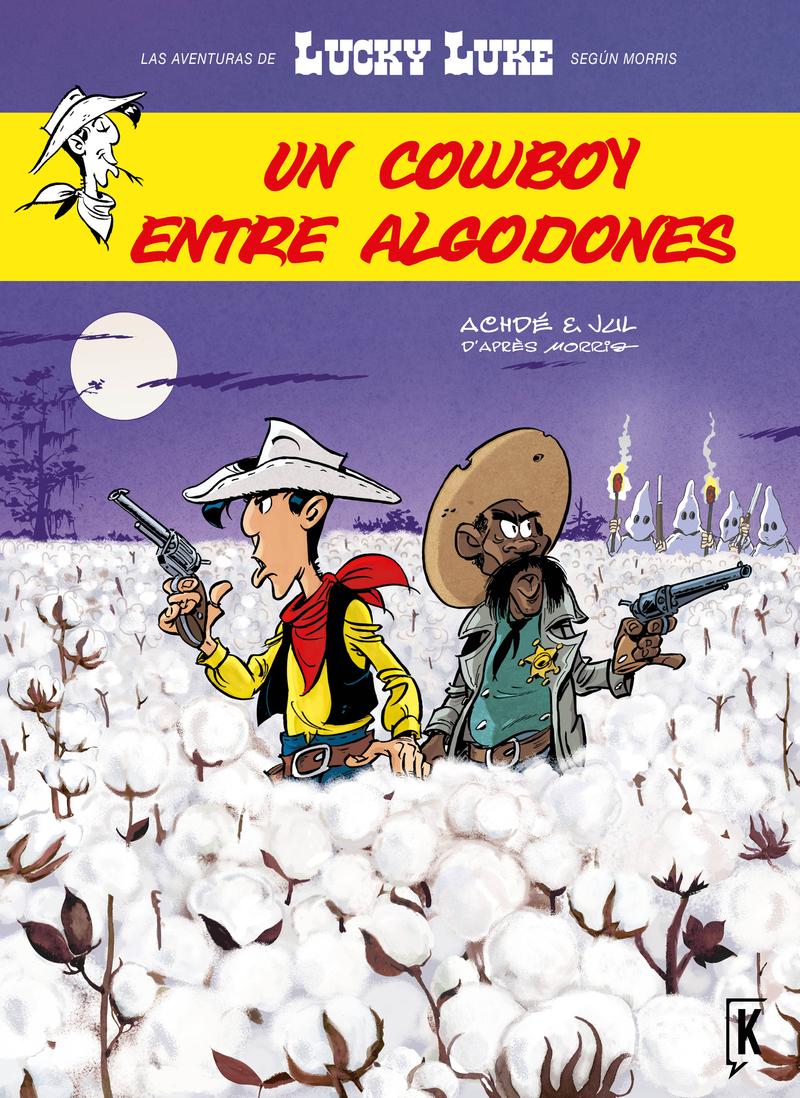 LUCKY LUKE. UN COWBOY ENTRE ALGODONES: portada