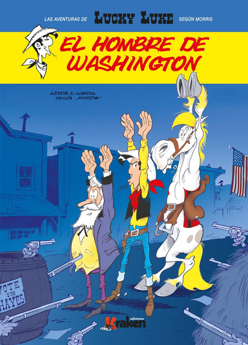 LUCKY LUKE. EL HOMBRE DE WASHINGTON: portada
