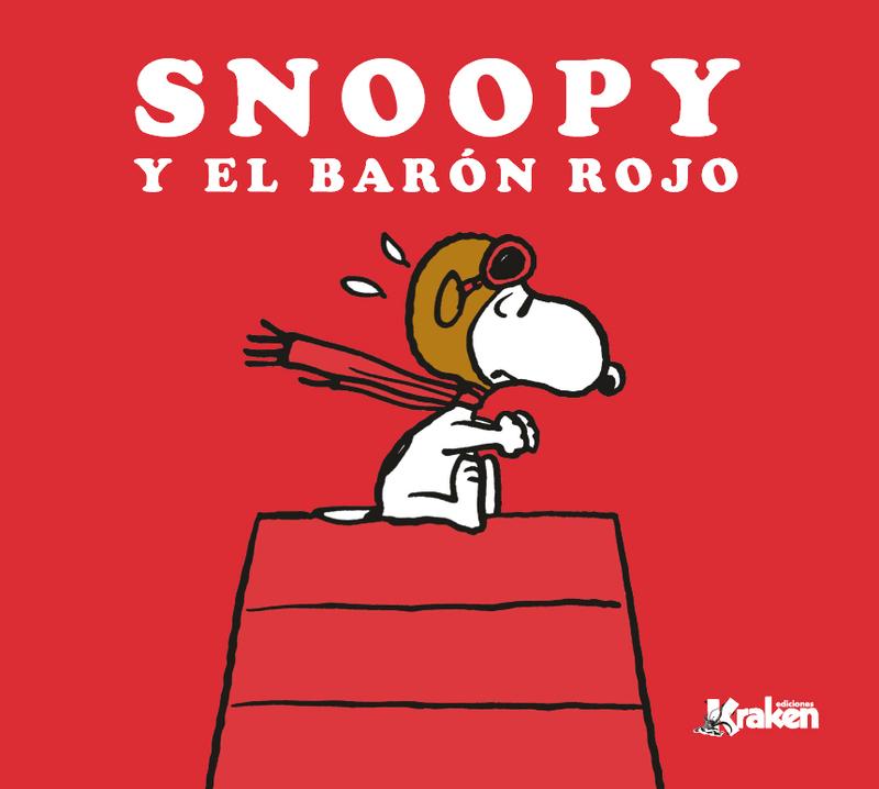 SNOOPY Y EL BARóN ROJO: portada