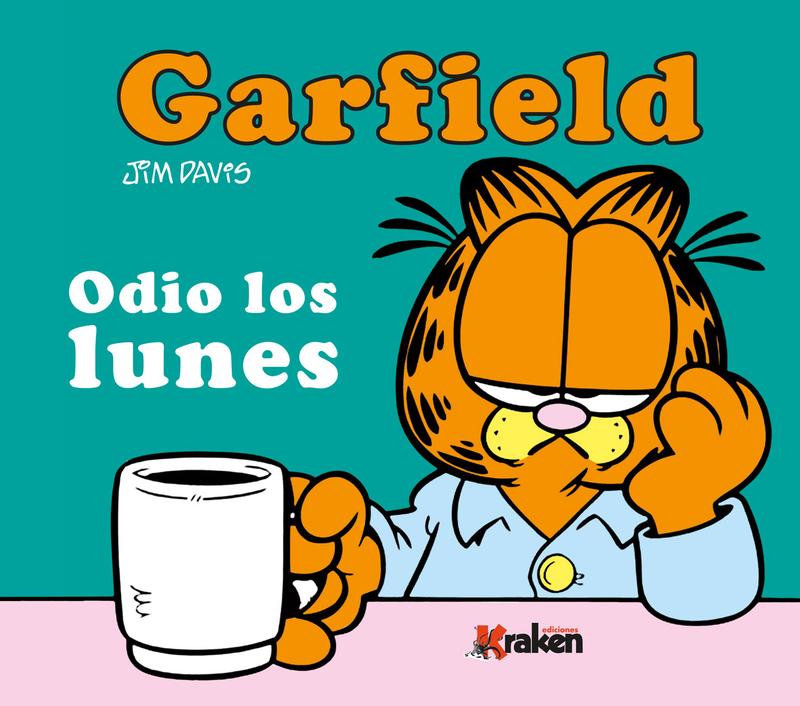 GARFIELD. ODIO LOS LUNES.: portada
