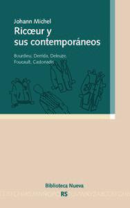 RICOEUR Y SUS CONTEMPORANEOS: portada