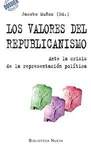 LOS VALORES DEL REPUBLICANISMO: portada