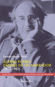 ALVARO POMBO. GENESIS DE UN NARRADOR: portada
